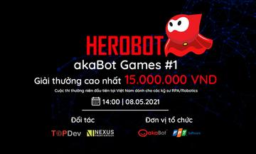 akaBot tổ chức cuộc thi đầu tiên về RPA tại Việt Nam