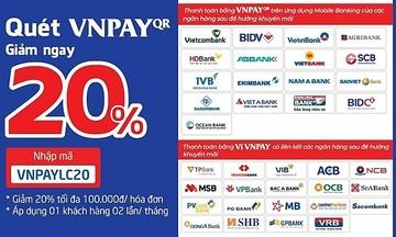 FPT Long Châu giảm ngay 20% hóa đơn với VNPay