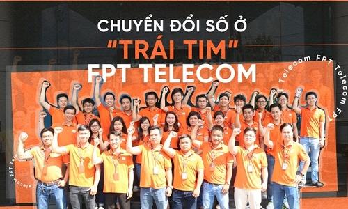 Cách 'trái tim' FPT Telecom chuyển đổi số