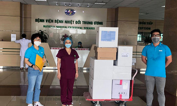 Quỹ Hy vọng tặng 30 quả lọc máu cứu bệnh nhân Covid-19 nặng