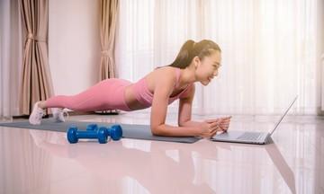 Nhà Phần mềm thử thách CBNV Plank trong thời gian work from home