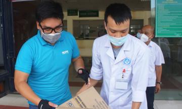 Quỹ nhà F tiếp sức lần 4 cho tâm dịch Bắc Giang
