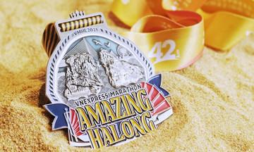 VnExpress Marathon Hạ Long chính thức công bố huy chương
