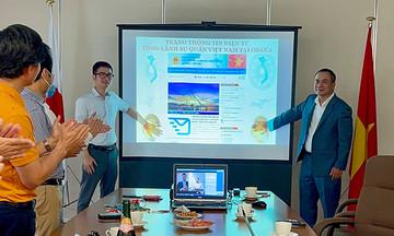 FPT Japan xây website mới cho Tổng lãnh sự Việt Nam tại Osaka