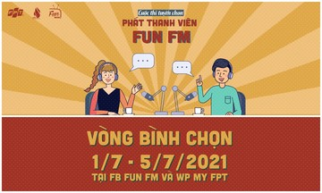 Bình chọn cho phát thanh viên yêu thích của FUN FM