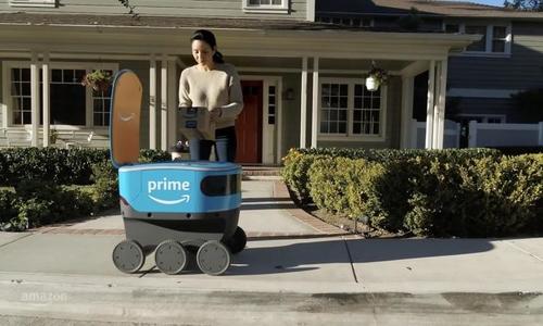 Amazon thử nghiệm robot giao hàng ở châu Âu