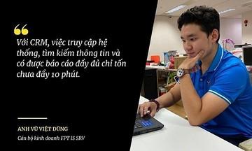 FPT IS quản lý khách hàng và cơ hội kinh doanh với CRM