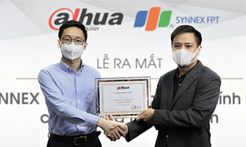 Synnex FPT phân phối chính thức camera Dahua tại Việt Nam