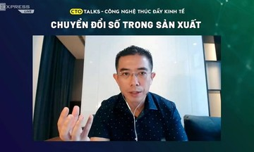 Anh Hoàng Việt Anh: 'Doanh nghiệp không chuyển đổi số sẽ bị bỏ lại'