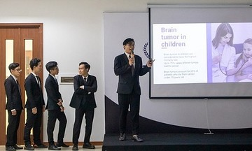 Sinh viên FPT làm đồ án tốt nghiệp về dùng AI hỗ trợ chẩn đoán u não