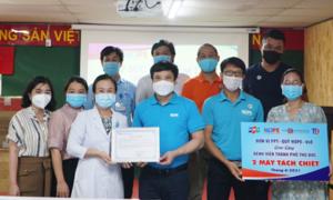 Quỹ nhà F tặng 170.000 bộ bơm tiêm vaccine Covid-19