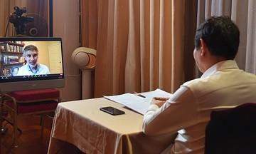 Anh Trương Gia Bình đàm đạo với 'bố già' AI: Làm thế nào đưa Việt Nam thành trung tâm AI thế giới?