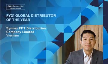 Synnex FPT lần đầu giành giải thưởng 'Nhà phân phối toàn cầu' của Dell Technologies