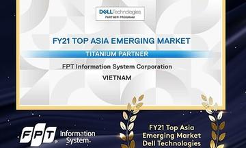 FPT IS được vinh danh đối tác hàng đầu của Dell tại châu Á