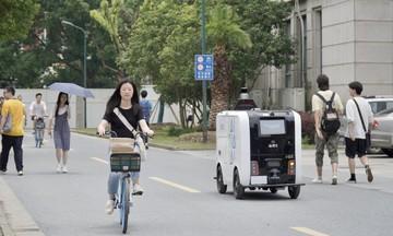 Alibaba bắt đầu giao hàng bằng robot