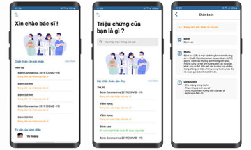 Sinh viên nhà F phát triển ứng dụng chẩn đoán bệnh trực tuyến
