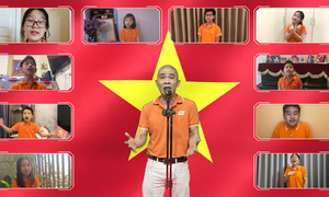 'Cho con là người Việt Nam' - Tiết mục mừng sinh nhật FPT