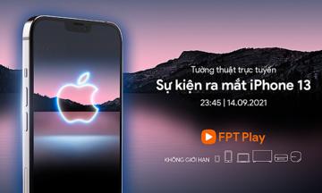 FPT Shop tổ chức xem trực tuyến sự kiện ra mắt iPhone mới