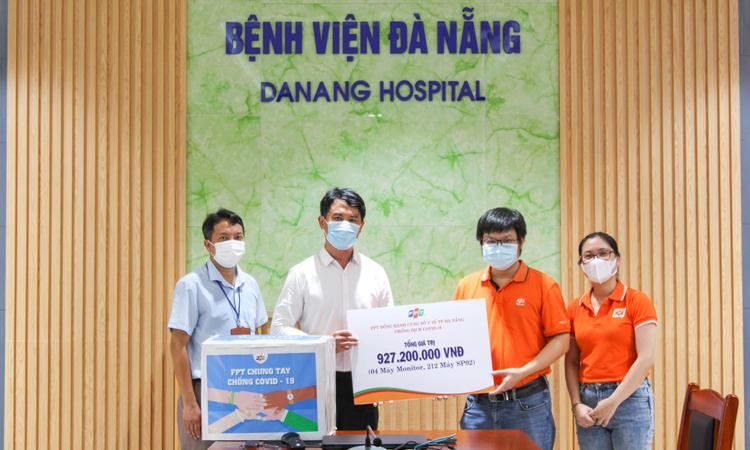 FPT hỗ trợ hơn 920 triệu đồng mua thiết bị y tế tặng Bệnh viện Đà Nẵng