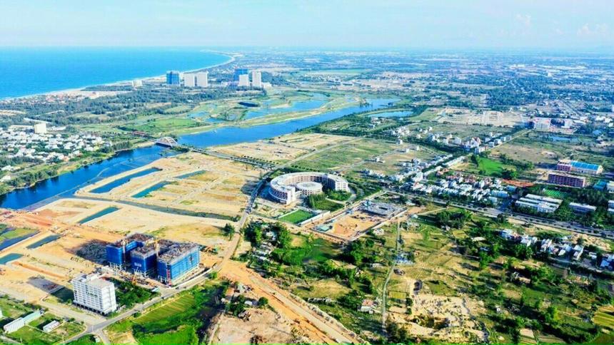 """<p class=""""Normal""""> Khu đô thị công nghệ FPT City Đà Nẵng<span>có tổng diện tích 181 ha,</span><span>thuộc phường Hòa Hải, quận Ngũ Hành Sơn. Nơi đây được quy hoạch để trở thành khu đô thị xanh, thông minh, hiện đại với đầy đủ các tiện ích đi kèm như: trường học, chung cư, trung tâm thương mại, văn phòng làm việc...</span></p>"""
