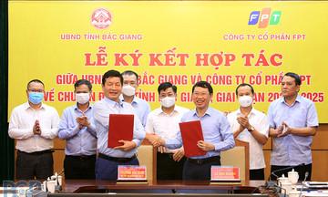 FPT ký thỏa thuận chuyển đổi số toàn diện cho tỉnh Bắc Giang