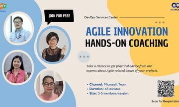 Sức hút từ hoạt động tư vấn thực chiến về Agile của FPT Software