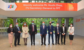 Tổng thư ký Liên minh Viễn thông thế giới thăm FPT