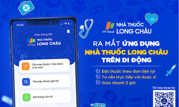 FPT Long Châu ra mắt ứng dụng mua thuốc trực tuyến trên di động